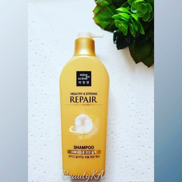 Питательный шампунь MISE EN SCENE Pearl Healthy & Strong Repair Shampoo