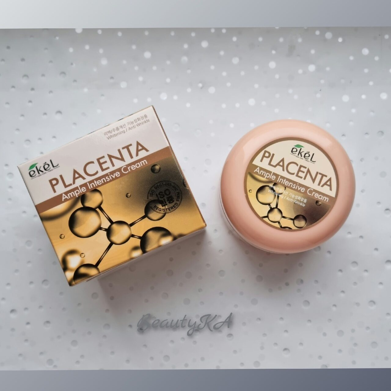 Крем для лица с плацентой Ekel Ample Intensive Cream Placenta